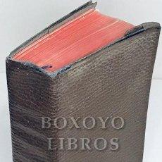 Libri di seconda mano: NACAR FUSTER, ELOINO/ COLUNGA,O.P., ALBERTO. MISAL RITUAL (LATINO-ESPAÑOL) Y DEVOCIONARIO. Lote 212773980