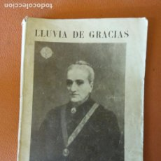 Livres d'occasion: LLUVIA DE GRACIAS. P.JACINTO ALEGRE,S.J. LA HORMIGA DE ORO.. Lote 218578852
