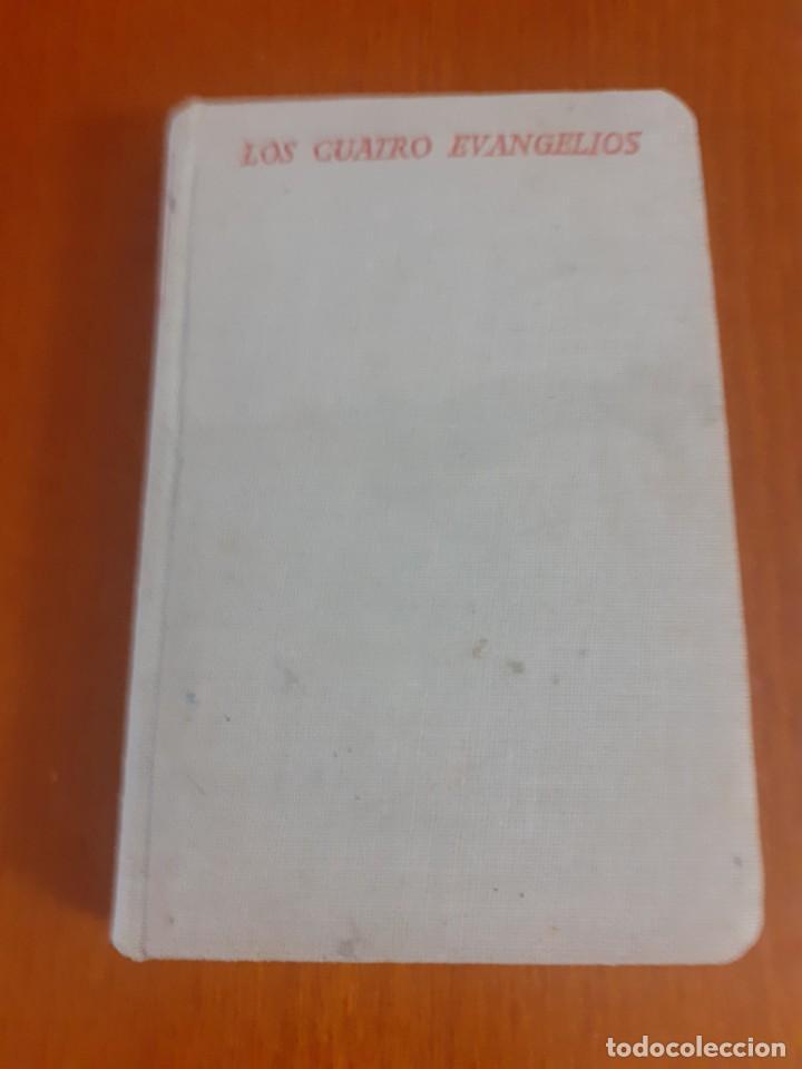 LIBRO DE BOLSILLO LOS 4 EVANGELIOS DE 1953 (Libros de Segunda Mano - Religión)