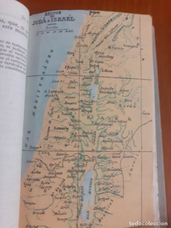 Libros de segunda mano: libro de bolsillo Los 4 evangelios de 1953 - Foto 3 - 218599322