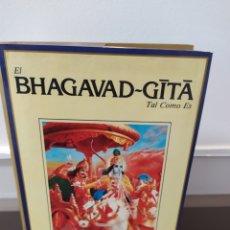 Libros de segunda mano: EL BHAGAVAD-GITA : TAL COMO ES. - ED. CONDENSADA... POR... A.C. BHAKTIVEDANTA SWAMI PRABHUPADA. Lote 218934125