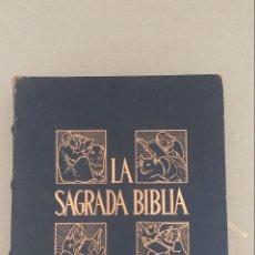 Libros de segunda mano: LA SAGRADA BIBLIA. TOMO III. MONTANER Y SIMON. Lote 219143251