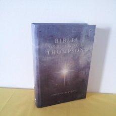 Libros de segunda mano: BIBLIA DE REFERENCIA THOMPSON - EDICION MILENIO - EDITORIAL VIDA 1987. Lote 219424537
