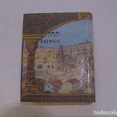 Libros de segunda mano: LIBRO DE LOS SALMOS. EN HEBREO Y ESPAÑOL. EDITORIAL SINAI.TEL AVIV. ISRAEL.. Lote 219636436