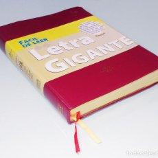 Libros de segunda mano: SANTA BIBLIA: LETRA GIGANTE / CASIODORO DE REINA; CIPRIANO DE VALERA... REV. DE 1960. BRASIL, 2009.. Lote 219743728