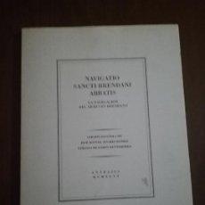 Libros de segunda mano: NAVIGATIO SANCTI BRENDANI ABBATIS. LA NAVEGACION DEL ABAD SAN BRENDANO. 1996. PAG 61.. Lote 219766060