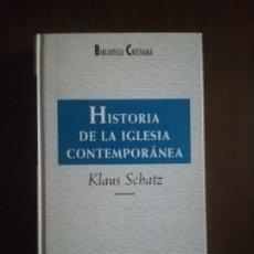 Libros de segunda mano: HISTORIA DE LA IGLESIA CONTEMPORANEA. KLAUS SCHATZ. BIBLIOTECA CRISTIANA. 1996. PAG. 242.. Lote 219769777