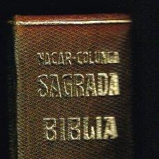 Livres d'occasion: SAGRADA BIBLIA - ELOINO NÁCAR FUSTER / ALBERTO COLUNGA - 1966 - ED. LUJO - MUY BUEN ESTADO. Lote 220545767