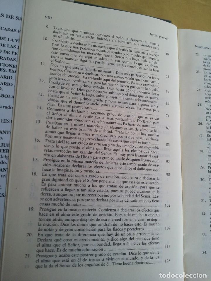 Libros de segunda mano: SANTA TERESA DE JESUS - OBRAS COMPLETAS - 5ª EDICION, EDITORIAL DE ESPIRITUALIDAD 2000 - Foto 5 - 220929238
