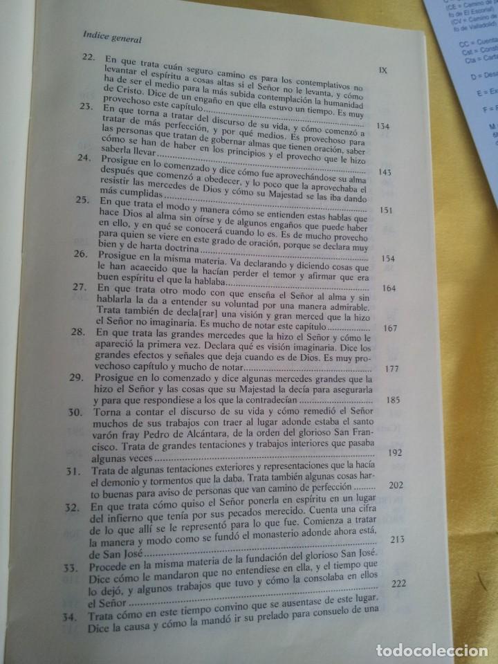 Libros de segunda mano: SANTA TERESA DE JESUS - OBRAS COMPLETAS - 5ª EDICION, EDITORIAL DE ESPIRITUALIDAD 2000 - Foto 6 - 220929238