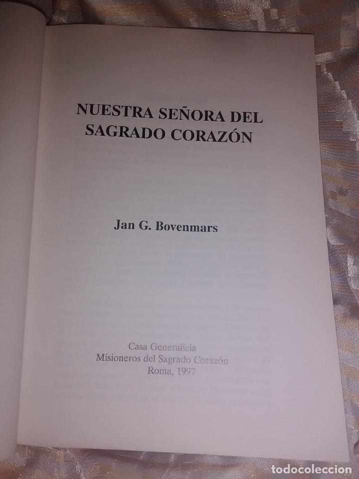 Libros de segunda mano: Nuestra Señora del Sagrado Corazón. Bovenmars. 1997. - Foto 2 - 221107721