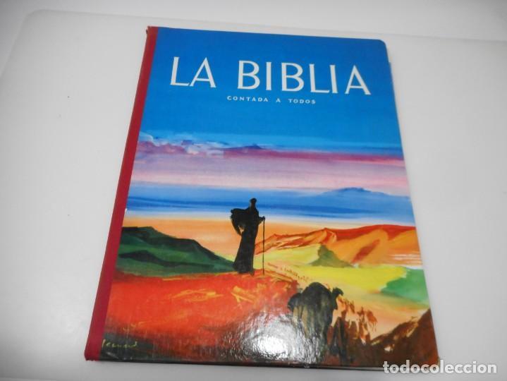 LA BIBLIA CONTADAS A TODOS Q3191T (Libros de Segunda Mano - Religión)