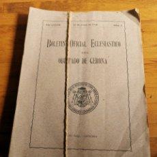 Libros de segunda mano: 12 BOLETÍN OFICIAL ECLESIÁSTICO DE 1940, UNA REVISTA DE CADA MES,. Lote 221368472