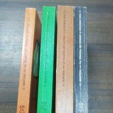 Libros de segunda mano: LA IGLESIA DE LUTERO A NUESTROS DIAS. EDICOINES CRISTIANDAD. GIACOMO MARTINA. 4 TOMOS. 1974. LEER.. Lote 221537310