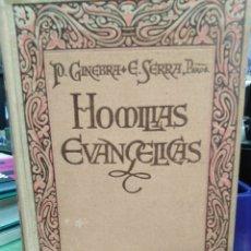 Libros de segunda mano: HOMILÍAS EVANGÉLICAS-PARA TODAS LAS DOMINICAS-PEDRO GINEBRA Y ESPONA-EDITA BALMES 1941,RELIGION. Lote 221662475