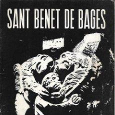 Libros de segunda mano: SANT BENET DE BAGES. RG.. Lote 222290421