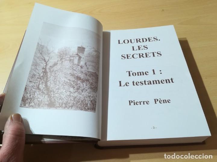 Libros de segunda mano: LOURDES LES SECRETS / PIERRE PENE - EN FRANCES / AUGE FRERES / P+106 - Foto 8 - 222824355