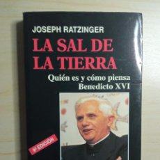 Libros de segunda mano: LA SAL DE LA TIERRA - PETER SEEWALD - PALABRA - 2006. Lote 223603112
