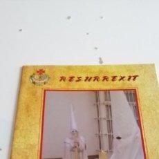 Libros de segunda mano: G-51 REVISTA DE SEMANA SANTA RESURREXIT CUARESMA 2006 NUM 2. Lote 223675258