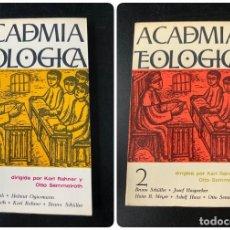 Libros de segunda mano: ACADEMIA TEOLOGICA. K. RAHNER & O. SEMMELROTH. 2 TOMOS. EDICIONES SIGUEME. SALAMANCA, 1967. Lote 223703597