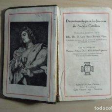 Libros de segunda mano: DEVOCIONARIO PARA LOS JÓVENES DE ACCIÓN CATÓLICA - 1942. Lote 223450358
