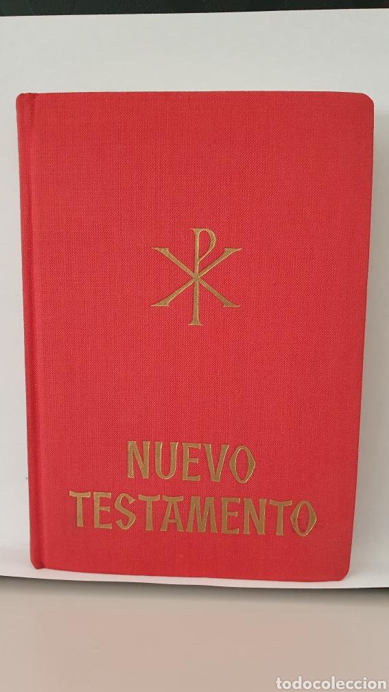 NUEVO TESTAMENTO/ EDITORIAL APOSTOLADO/ AÑO 1959 (Libros de Segunda Mano - Religión)