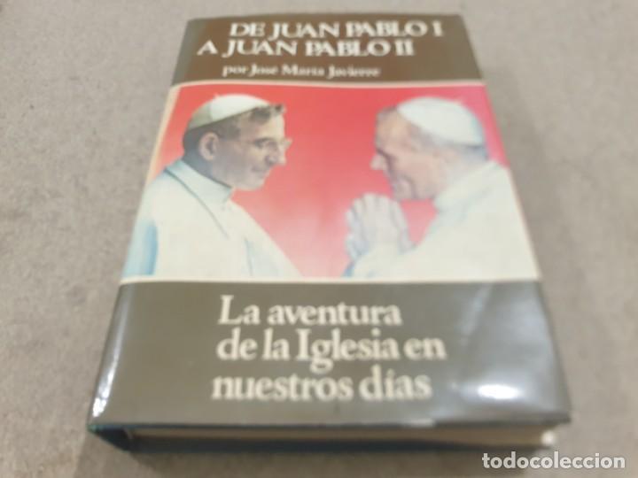 RELIGION....DE JUAN PABLO I A JUAN PABLO II....1979... (Libros de Segunda Mano - Religión)