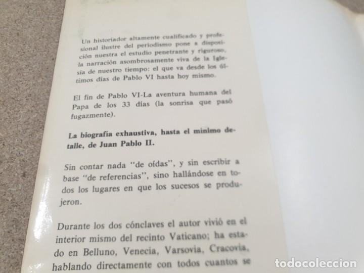 Libros de segunda mano: RELIGION....DE JUAN PABLO I A JUAN PABLO II....1979... - Foto 5 - 224626080