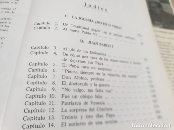 Libros de segunda mano: RELIGION....DE JUAN PABLO I A JUAN PABLO II....1979... - Foto 8 - 224626080