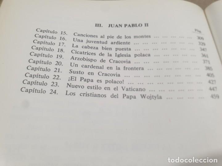 Libros de segunda mano: RELIGION....DE JUAN PABLO I A JUAN PABLO II....1979... - Foto 9 - 224626080