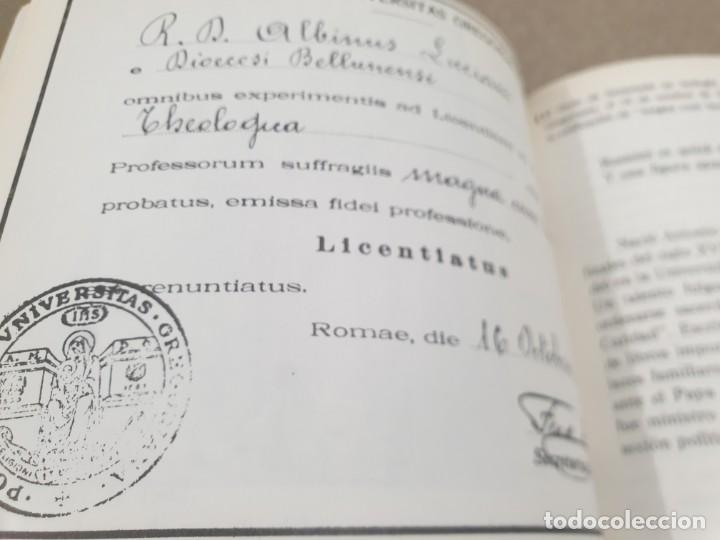 Libros de segunda mano: RELIGION....DE JUAN PABLO I A JUAN PABLO II....1979... - Foto 12 - 224626080