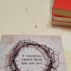 Livros em segunda mão: G-53 LIBRO Y VOSOTROS QUIEN DECIS QUE SOY YO SALAS JOSE ANTONIO EDITORIAL GRAMATICA PARDA. Lote 224650410