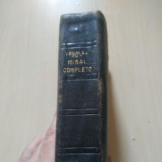 Libros de segunda mano: MISAL COMPLETO- MOLINA. Lote 224812940