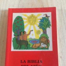 Livres d'occasion: LA BIBLIA DEL NIÑO: SELECCIÓN DE TEXTOS BÍBLICOS - JAKOB ECKER. Lote 224890488