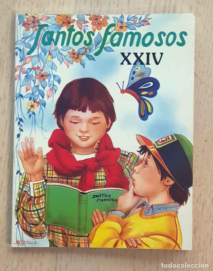 SANTOS FAMOSOS XXIV. SAN ESTANISLAO DE KOSTKA. SAN PASCUAL BAILÓN. SAN GABRIEL DE LA DOLOROSA. SAN R (Libros de Segunda Mano - Religión)