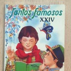 Livros em segunda mão: SANTOS FAMOSOS XXIV. SAN ESTANISLAO DE KOSTKA. SAN PASCUAL BAILÓN. SAN GABRIEL DE LA DOLOROSA. SAN R. Lote 226301990
