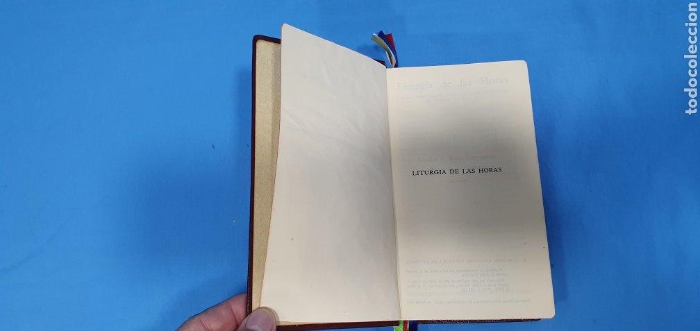 Libros de segunda mano: LITURGIA DE LAS HORAS - LAUDES / HORA INTERMEDIA / VÍSPERAS / COMPLETAS 1972 - Foto 3 - 227809325