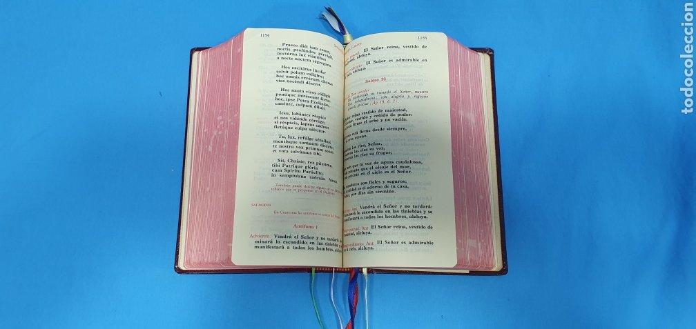 Libros de segunda mano: LITURGIA DE LAS HORAS - LAUDES / HORA INTERMEDIA / VÍSPERAS / COMPLETAS 1972 - Foto 5 - 227809325
