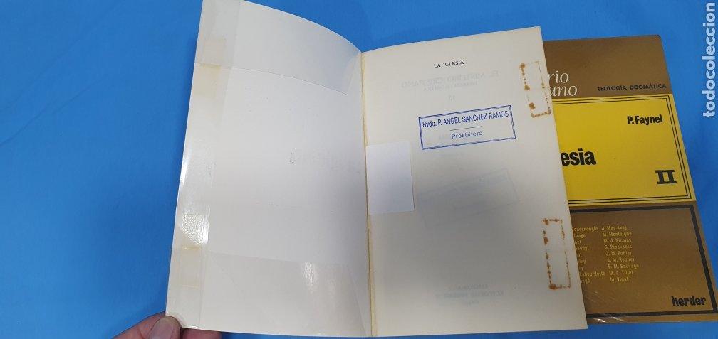 Libros de segunda mano: EL MISTERIO CRISTIANO - LA IGLESIA I y II - TEOLOGÍA DOGMÁTICA - EDITORIAL HERDER - Foto 2 - 227813360
