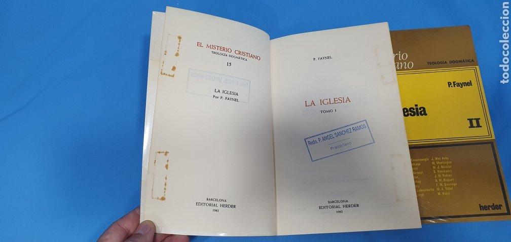 Libros de segunda mano: EL MISTERIO CRISTIANO - LA IGLESIA I y II - TEOLOGÍA DOGMÁTICA - EDITORIAL HERDER - Foto 3 - 227813360