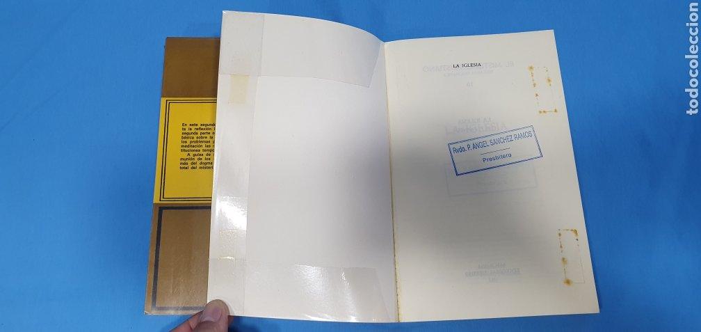 Libros de segunda mano: EL MISTERIO CRISTIANO - LA IGLESIA I y II - TEOLOGÍA DOGMÁTICA - EDITORIAL HERDER - Foto 5 - 227813360