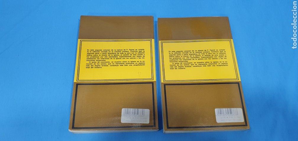Libros de segunda mano: EL MISTERIO CRISTIANO - LA IGLESIA I y II - TEOLOGÍA DOGMÁTICA - EDITORIAL HERDER - Foto 8 - 227813360