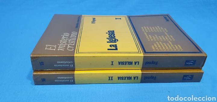 Libros de segunda mano: EL MISTERIO CRISTIANO - LA IGLESIA I y II - TEOLOGÍA DOGMÁTICA - EDITORIAL HERDER - Foto 9 - 227813360
