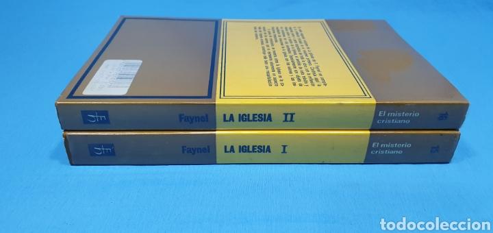 Libros de segunda mano: EL MISTERIO CRISTIANO - LA IGLESIA I y II - TEOLOGÍA DOGMÁTICA - EDITORIAL HERDER - Foto 10 - 227813360