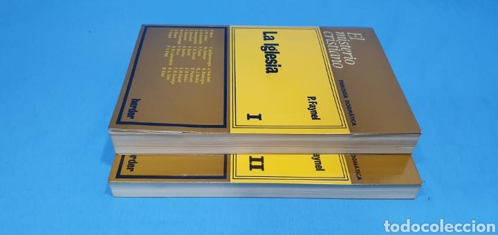 Libros de segunda mano: EL MISTERIO CRISTIANO - LA IGLESIA I y II - TEOLOGÍA DOGMÁTICA - EDITORIAL HERDER - Foto 11 - 227813360