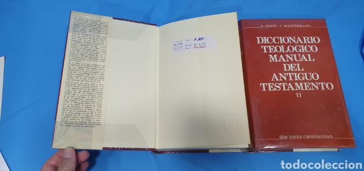 Libros de segunda mano: DICCIONARIO TEOLÓGICO MANUAL DEL ANTIGUO TESTAMENTO I y II - EDICIONES CRISTIANDAD - Foto 2 - 227815350