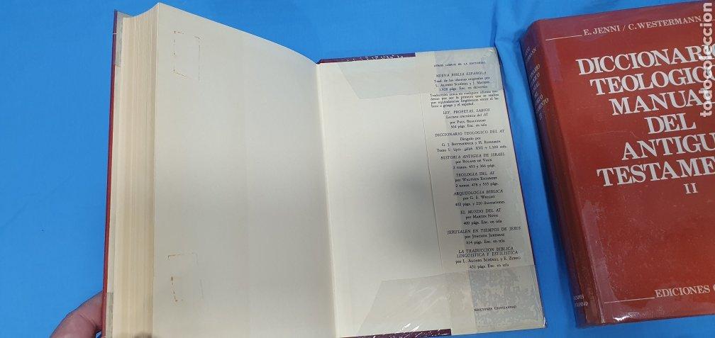 Libros de segunda mano: DICCIONARIO TEOLÓGICO MANUAL DEL ANTIGUO TESTAMENTO I y II - EDICIONES CRISTIANDAD - Foto 4 - 227815350