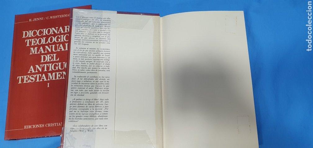 Libros de segunda mano: DICCIONARIO TEOLÓGICO MANUAL DEL ANTIGUO TESTAMENTO I y II - EDICIONES CRISTIANDAD - Foto 5 - 227815350