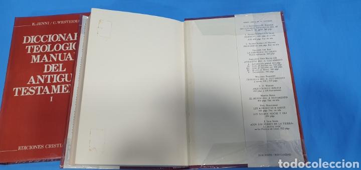 Libros de segunda mano: DICCIONARIO TEOLÓGICO MANUAL DEL ANTIGUO TESTAMENTO I y II - EDICIONES CRISTIANDAD - Foto 7 - 227815350