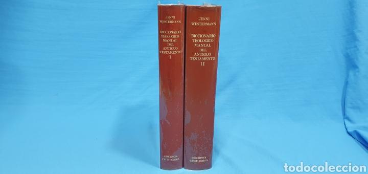 Libros de segunda mano: DICCIONARIO TEOLÓGICO MANUAL DEL ANTIGUO TESTAMENTO I y II - EDICIONES CRISTIANDAD - Foto 8 - 227815350